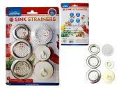 48 Units of SINK STRAINER 6PC/SET