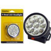 48 Units of 9 Led Headlight - Laser/ LED Lights