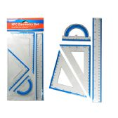 96 Units of Geometry Ruler 4 Pcs/Set - Rulers