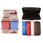48 Units of Metal Credit Card Wallet