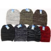 60 Units of Knit Ski Hat-Fleece Lining