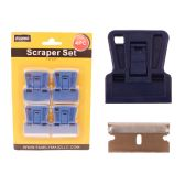 "48 Units of Scraper 4pc/Set 1.6""X2"" Blue - Paint and Supplies"