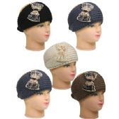 36 Units of WOMAN WINTER HAT 001 Knitted asst