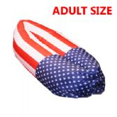 20 Units of BED 034 AMERICAN FLAG INFLATABLE BED - Inflatables