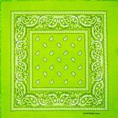 36 Units of BANDANA 106 COTTON green - Bandanas