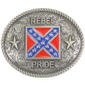 36 Units of Rebel Flag Belt Buckle