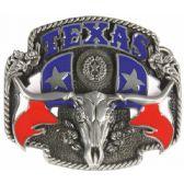 24 Units of Texas Bull Belt Buckle - Mens Belts