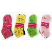 36 Units of Women's Musical Symbols Ankle Sock - Womens Ankle Sock