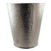 12 Units of 5 LITER DELUXE STAINLESS STEEL HAMMERED WASTE BIN - Waste Basket