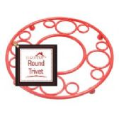 12 Units of Deco Red Trivet - Coasters & Trivets
