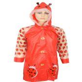 24 Units of Children's Lady Bug Rain Coat