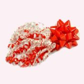 """48 Units of 4"""" RED BOW & CURLY RIBBON - VALENTINES"""