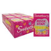 36 Units of SWEETHEART CONVERSATION HEARTS 0.9 OUNCE SOUR