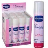 48 Units of Amoray Feminine Body Spray 2oz - Body Deodorant