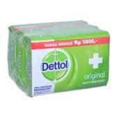 48 Units of Dettol Soap 105g x 3pk Original - Soap & Body Wash