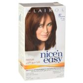 24 Units of Clairol Nice & Easy Hair Color Reddish Brown 47AP - Hair Items