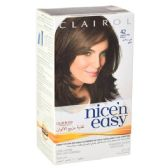 24 Units of Clairol Nice & Easy Hair Color Ash Brown 42AP - Hair Items