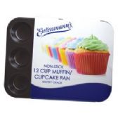6 Units of Bakery Grade 12 Cup Muffin Pan - Frying Pans and Baking Pans