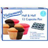 8 Units of Half & Half 12 Cupcake Pan