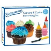 12 Units of Cupcake & Cookie Decorating Set