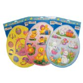 48 Units of EASTER CLING 15 X 12 INCH ASSORTED DESIGNS - EASTER