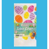 48 Units of PLASTIC TABLE COVER 54 X 108 INCH EASTER - EASTER