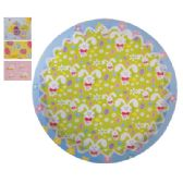 48 Units of Easter Round Serving Tray - Easter