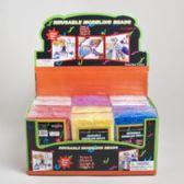 48 Units of Modeling Foam Beads 6ast Colors .40 Oz. Each/12pc Pdq Shrink Film W/craftsticker 3+ - Foam & Felt