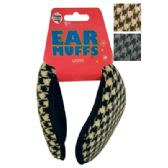 48 Units of WOMEN'S EAR MUFF KNITTED ASSORTED COLORS - Ear Warmers