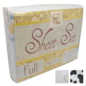 12 Units of BED SHEET SET MICROFIBER 4 PC FULL SIZE