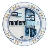 12 Units of ModernWare Paper Plates - Party Tableware