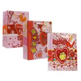 96 Units of Valentine X-Large Size Assorted Gift Bag - Valentine Gift Bag's