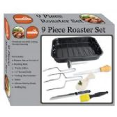 4 Units of 9 Pc Roaster Set