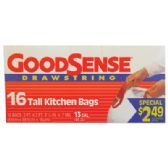 9 Units of GOODSENSE TALL KITCHEN BAGS - Bags Of All Types
