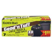 12 Units of HANDI BAG GOOD & TUFF TRASH BAGS - Garbage & Storage Bags