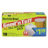 12 Units of HANDI BAG GOOD & TUFF TRASH BAG - Garbage & Storage Bags