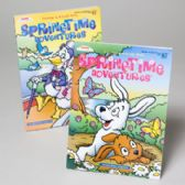 96 Units of Color/activity Book Spring Theme 96 Pages In 96 Ct Floor Display - Coloring Books
