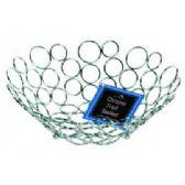 12 Units of CHROME FRUIT BASKET - Baskets