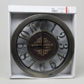 20 Units of Clock 12inch Distressed Look Numbers White Boxed