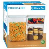 4 Units of 6 Piece Storage Container Set - Food Storage Bags & Containers