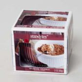 48 Units of Candle Scented 3 Oz Window Boxed Rhubarb Crumble - Candles & Accessories