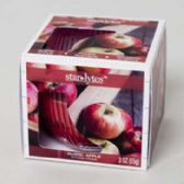 48 Units of Candle Scented 3 Oz Window Boxed Rustic Apple - Candles & Accessories