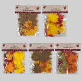 48 Units of Fall Leaves Maple 5ast 50pc On 12pc Merchstrip/harvest Pbh