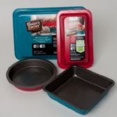 40 Units of Bakerware Bakers Secrt 40pc Wntr Floor Display Color Nonstk Metal See N2 - Serving Trays
