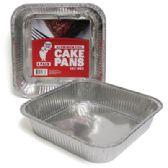 48 Units of SQUARE FOIL CAKE PAN - Aluminum Pans