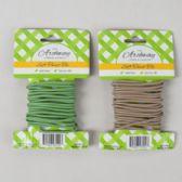 48 Units of Soft Twist Tie 10ft/3mm Green/ Tan 12pc Merchstrip Gardn Tcd
