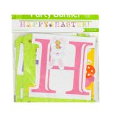 108 Units of 'Happy Easter!' Jointed Party Banner - Easter