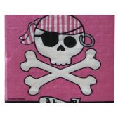 108 Units of Pirate Parrty Ahoy Lunch Napkins