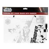 72 Units of Stars Wars Dry Erase Board with Marker