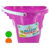 36 Units of Beach Sand Play Bucket - Beach Toys